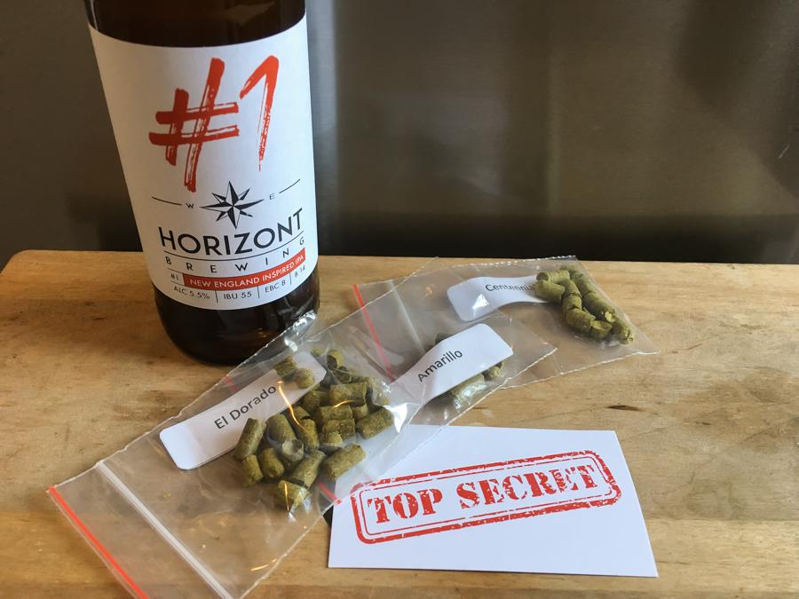 Kötelező top secret – Horizont #1 NE IPA