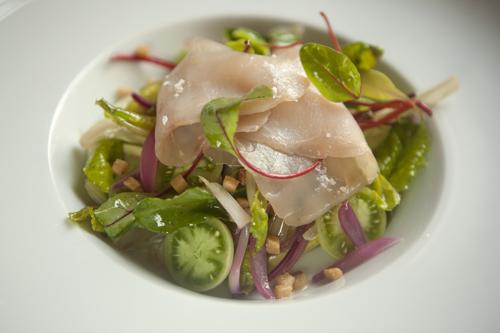 Fonnyasztott saláta harcsasonkával