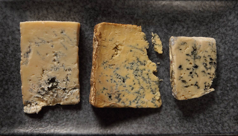 Kéksajt-mousse