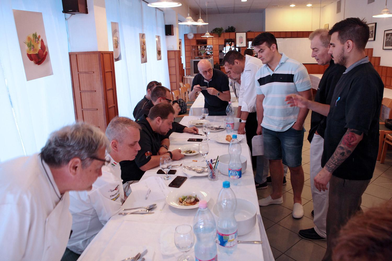 III. Czifray-versenykurzus – az ötödik forduló zöldségtányérjai