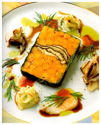 Chtrotter babxcarrotterrine shiitake dill oil