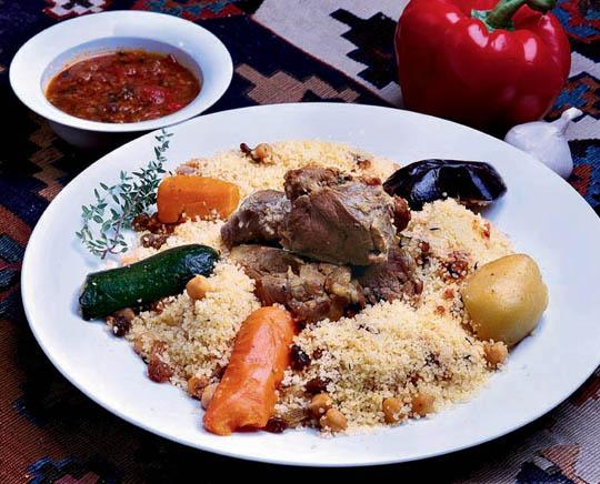 Báránykuszkusz hétféle zöldséggel